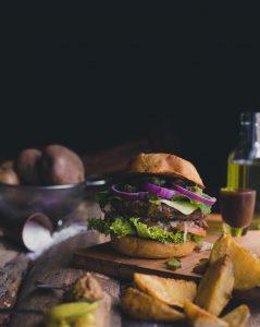 Hamburger bestellen